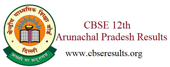 CBSE 12th Arunachal Pradesh Results