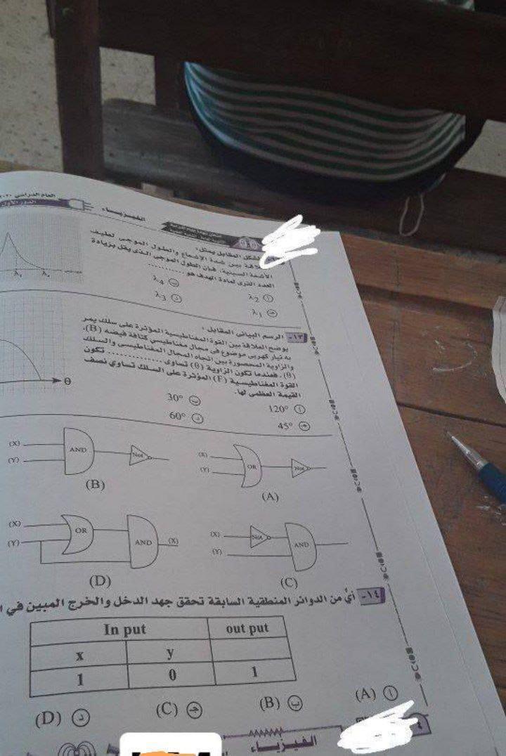 الثانوية 2021.. تداول أسئلة امتحان مادة الفيزياء عبر تطبيق التليجرام وصفحات السوشيال ميديا 4