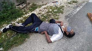 Seorang Pria Di Kupang Tiba-tiba Jatuh Di Tengah Jalan, Langsung Meninggal,