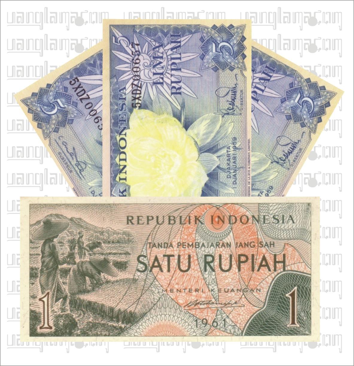 Paket 16 Rupiah E