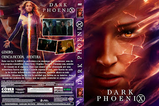 X-MEN FENIX OSCURA-DARK PHOENIX 2019 [COVER DVD+BLU-RAY]