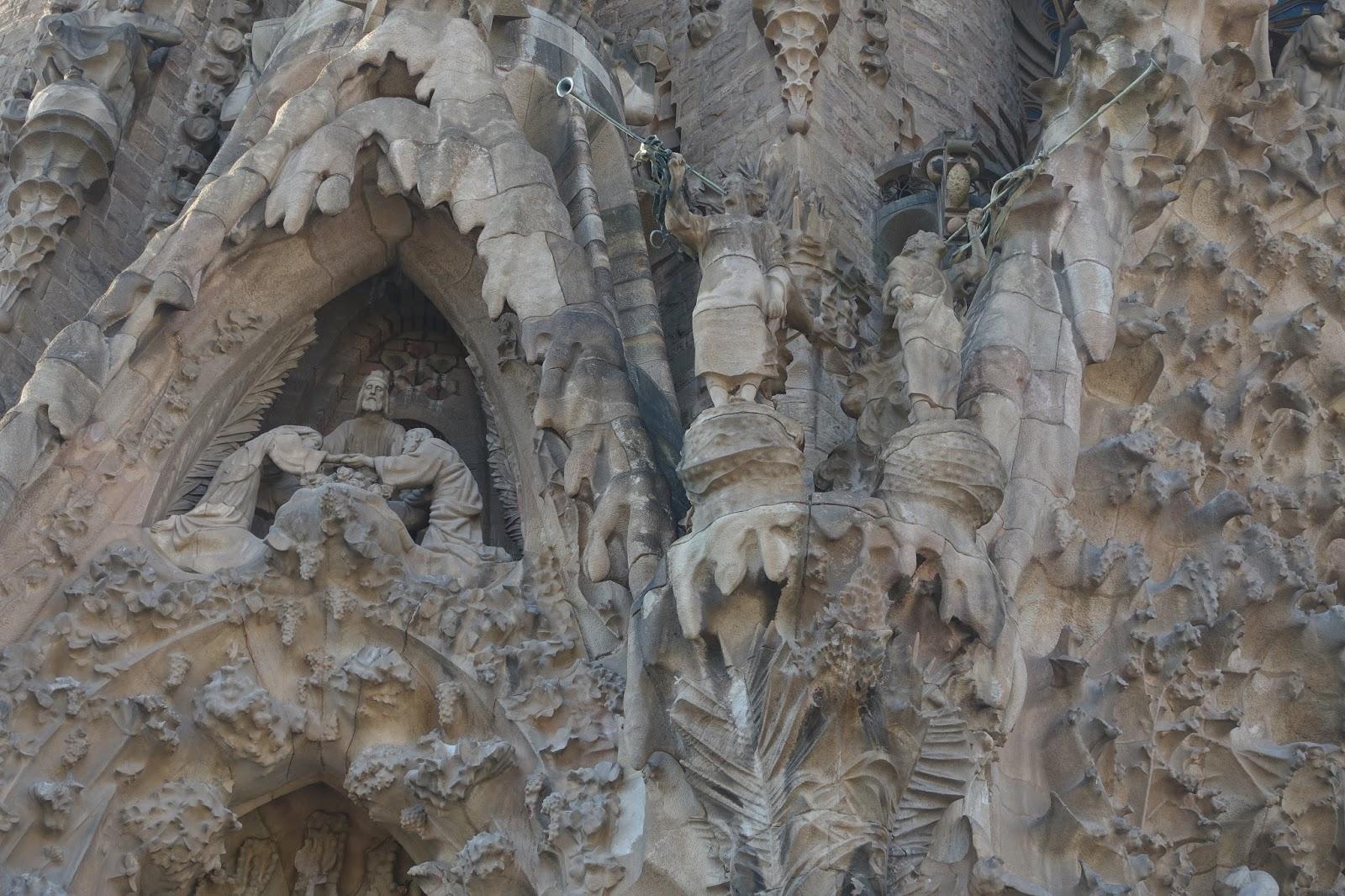 サグラダ・ファミリア (Sagrada Familia) 「希望の門」