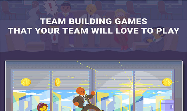 Team Building Games That Your Team Will Love to Play #infographic