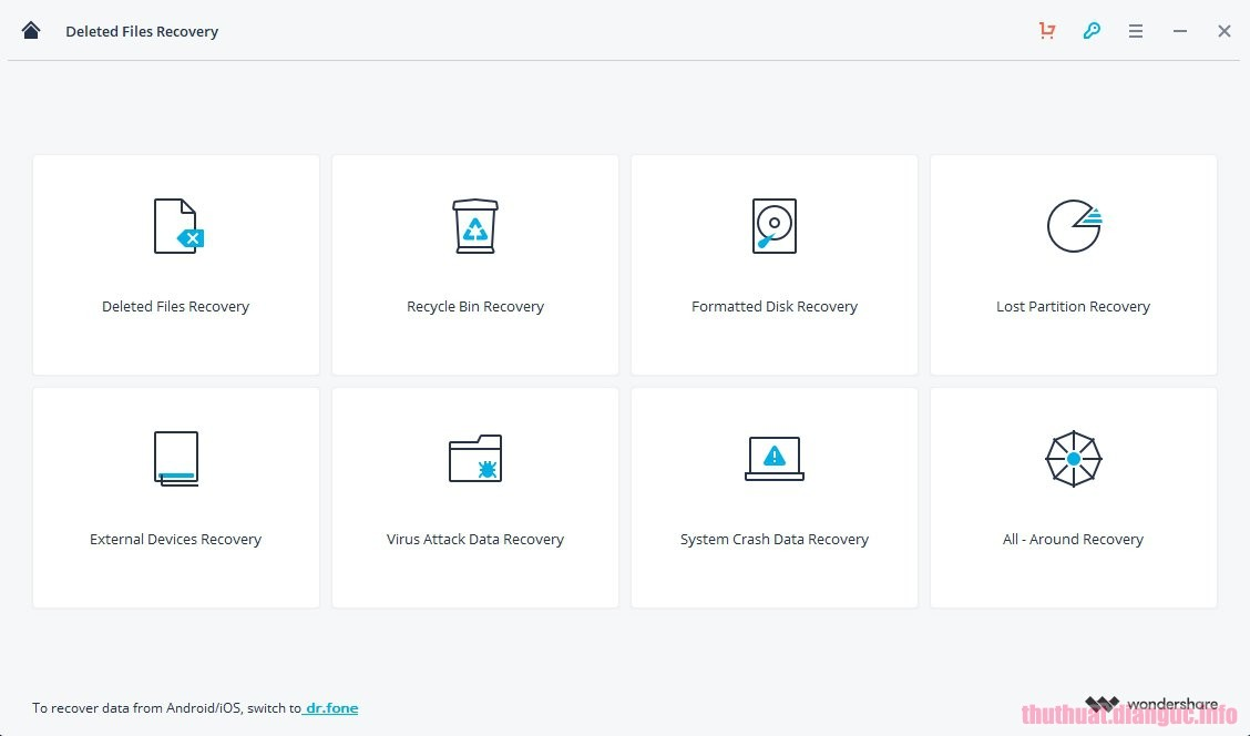 Download Wondershare Recoverit 8.0.4.12 Full Crack