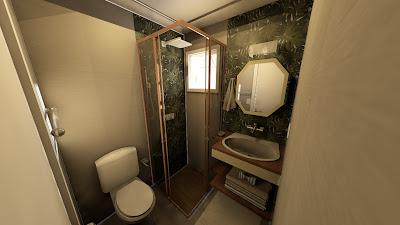 Banheiro Quadrado