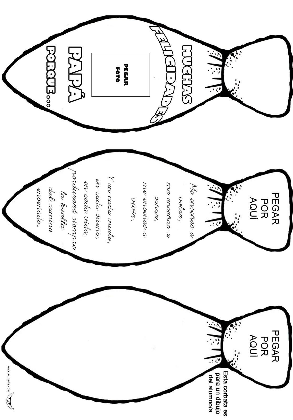 Corbatas Para Imprimir Y Colorear Imagui