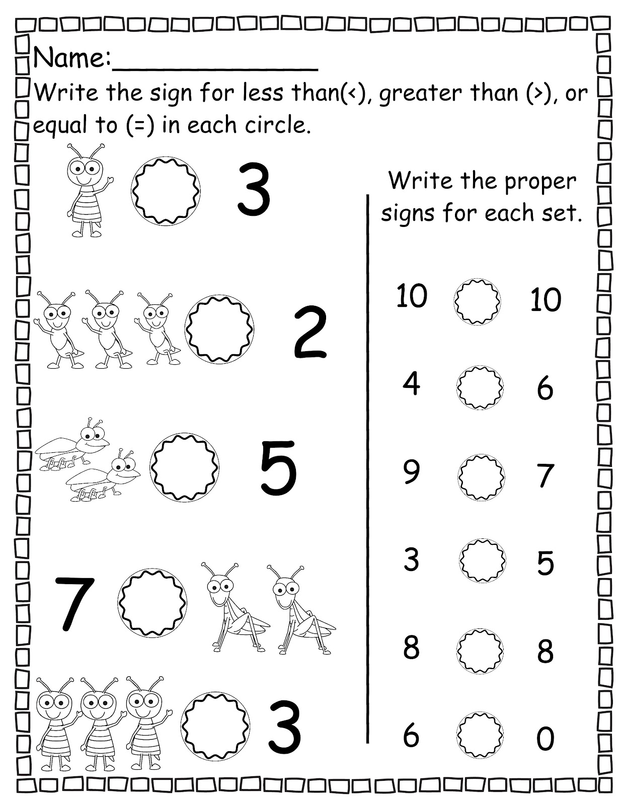 The Crazy Pre K Classroom Free Printables