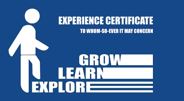 Experience Certificate: Work Experience Letter Sample Format for Job Applications
