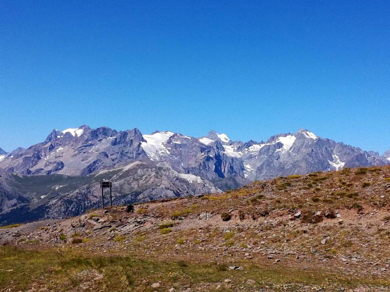Le montagne viste dal Col du Granon