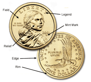 Sacagawea Dollar with info