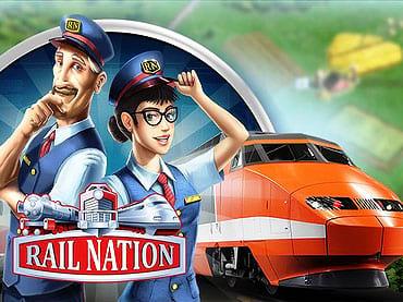 Rail Nation Gedung & Ladang - Peringkat 4.43  Rail Nation adalah gim taipan strategi pamungkas di mana Anda harus menemukan taktik yang tepat, membangun kerajaan kereta api, menjadi pengusaha sukses, dan membangun kerajaan kereta Anda sendiri.