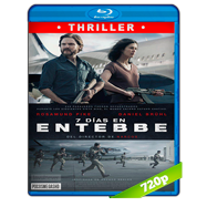 Rescate en Entebbe (2018) BRRip 720p Audio Dual Latino-Ingles