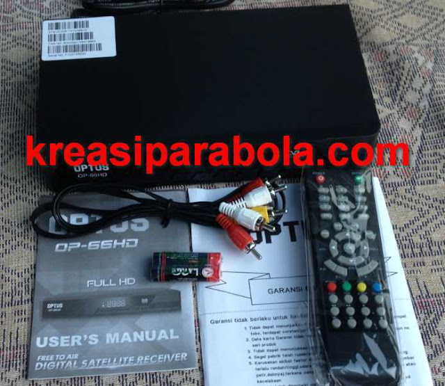Unit Receiver Optus OP-66HD