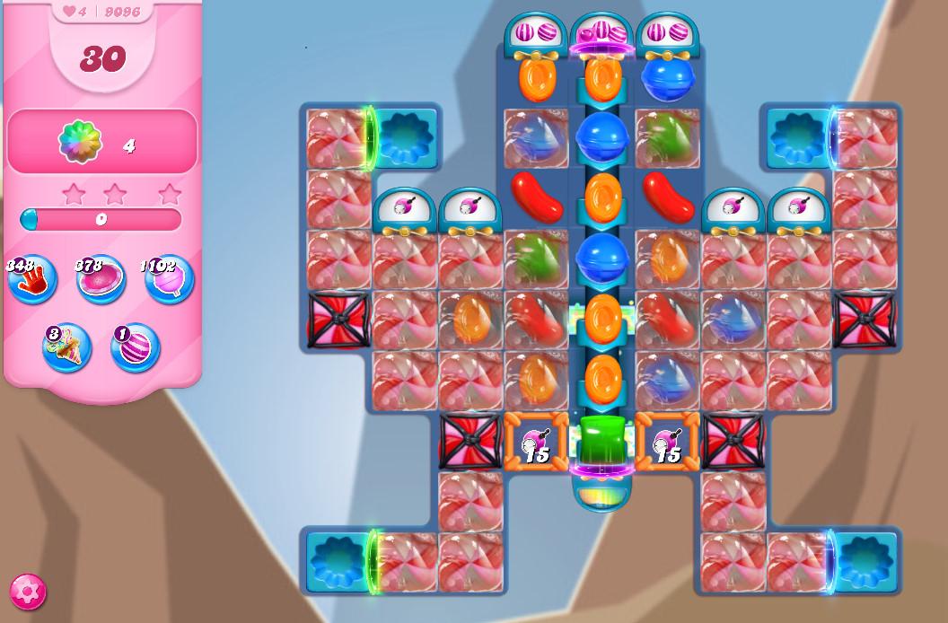 Candy Crush Saga level 9096