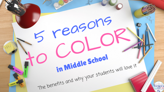 middle school, blended learning, color, growth mindset