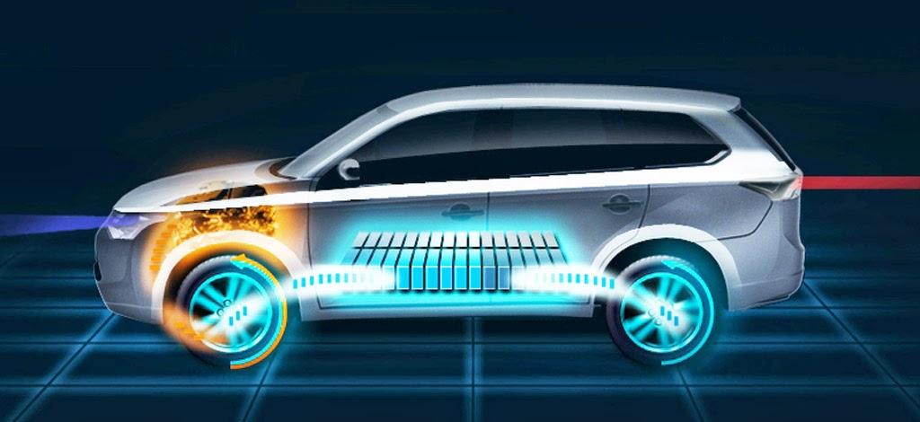 Mitsubishi Outlander PHEV Plugin hybrid Test Drive VIDEO Electric