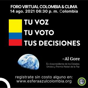 FORO VIRTUAL COLOMBIA & CLIMA