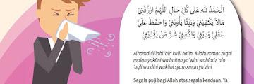 Doa Setelah Bersin
