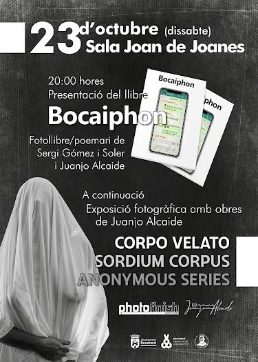 """Presentació de """"Bocaiphon"""", fotollibre i poemari de Juanjo Alcaide i de Sergi Gómez i Soler"""