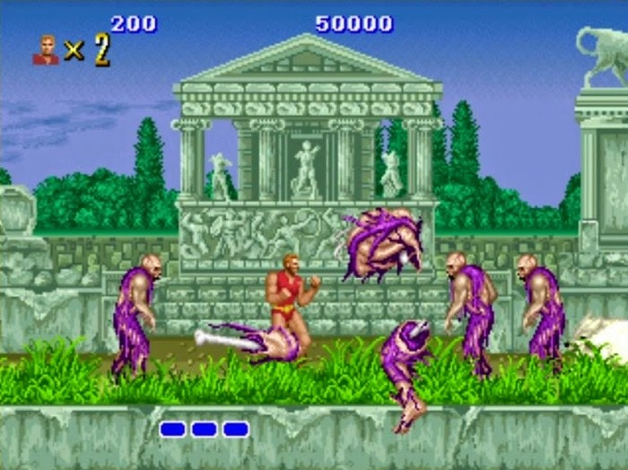download arcade game portable Altered Beast