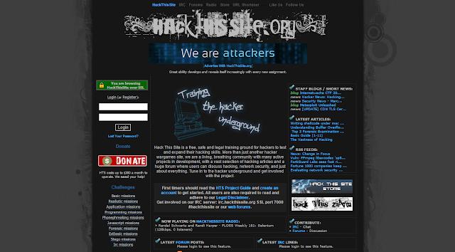 موقع hackthissite.org