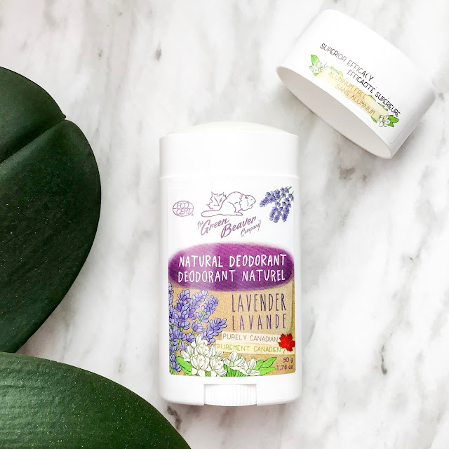 The Green Beaver Company Lavender Natural Deodorant