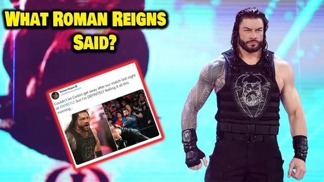 क्या कहा रोमन रेंस ने TLC 2019 में मिली हार के बाद