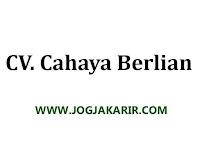 Loker Purwokerto, Jogjakarta, Kudus & Soloraya Agustus 2020 di CV Cahaya Berlian