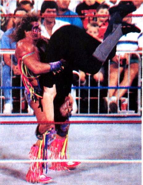 Classic Wrestling World Photos The Ultimate Warrior PhotosUltimate Warrior Undertaker