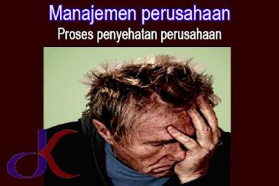 Manajemen perusahaan | Proses penyehatan perusahaan