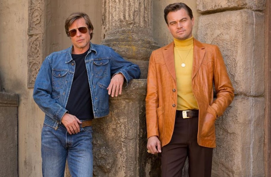 "Leonardo DiCaprio e Brad Pitt na primeira imagem de ""Once Upon a Time in Hollywood"""