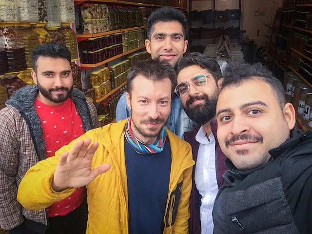 Buying pickled cucumbers; Vanai, Iran