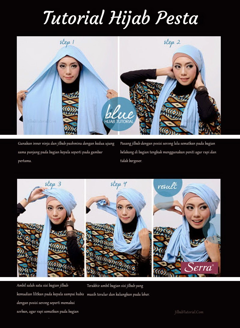 Party Hijab Tutorial Indonesian Jilbab Pashmina And Which We Discuss In This Is How Fashionable Trendy To Wear Following Very Suitable For You