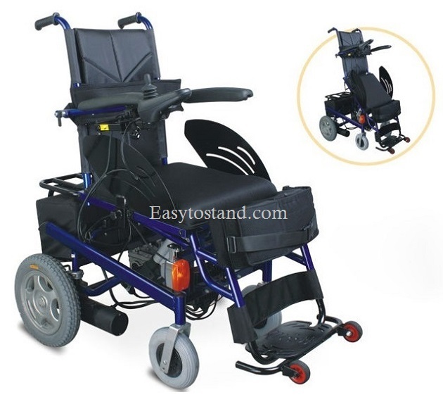 Power wheelchair to make you stand