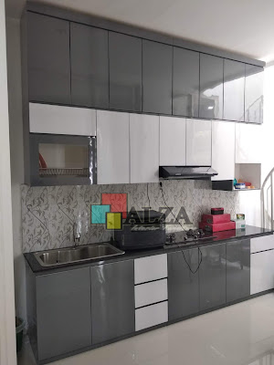 kitchen set HPL di surabaya