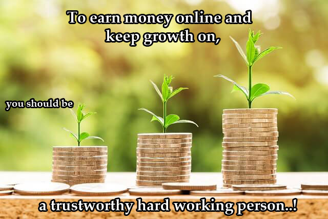 What are the lasting effective ways to earn money online