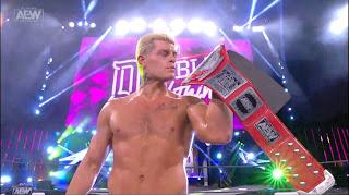 AEW - Cody se coronó como el primer campeón TNT e Hikaru Shida destrona a Nyla Rose en Double or Nothing