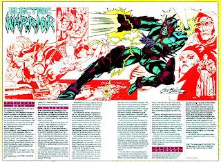 Guerrero Electrico (ficha dc comics)