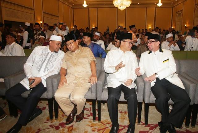 Sejumlah Tokoh GNPF Ulama Temui Prabowo Malam Ini