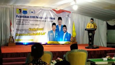 Hadiri Pelantikan PC PMII Lotim, H. Rumaksi  Tegaskan Pemerintah Tak Anti Kritik