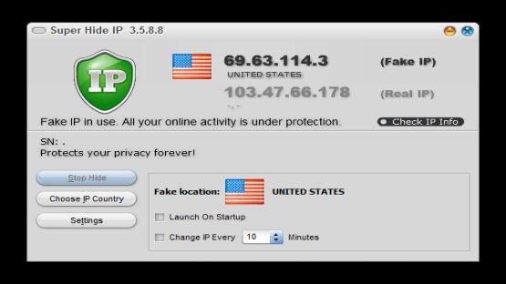 Super Hide IP screenshot 2