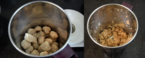 ground soya chunks
