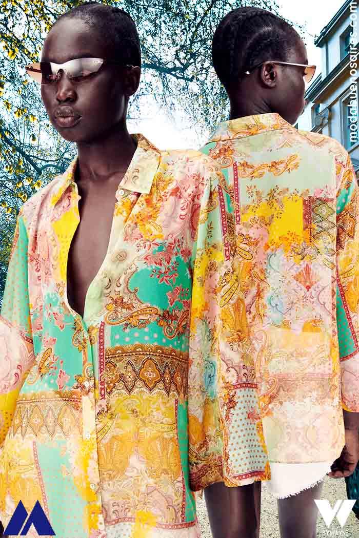 Estampas de moda 2022 ropa de mujer Zara