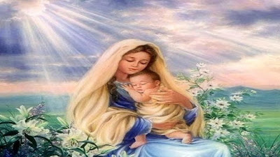 imagem de Maria e Jesus