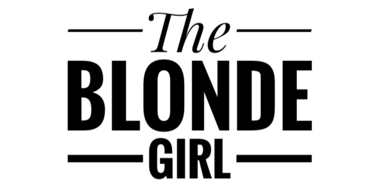 The blonde girl