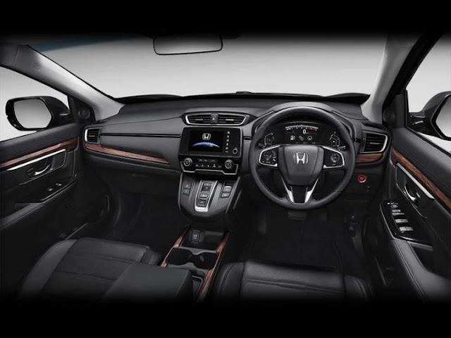 All New 2018 Honda CR-V Interior view