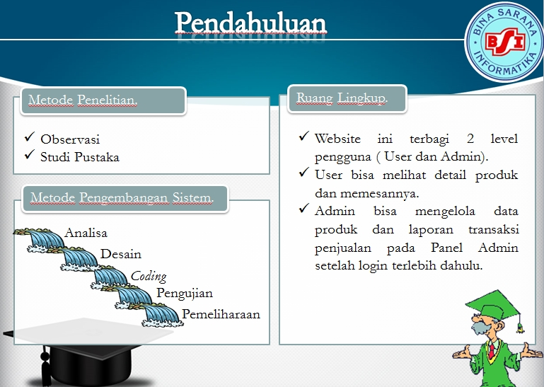 Contoh Slide Presentasi Power Point Makalah Web Programming