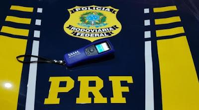 Em Ouro Branco/AL, PRF prende homem embriagado que provocou acidente na BR-423