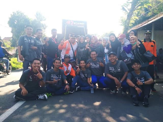 Peringati HUT IWJ ke 3, Warga Desa Sukorejo dan Mahasiswa Ikuti JJS