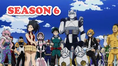 When will season 6 of My Hero Academia be released? Let's find out here